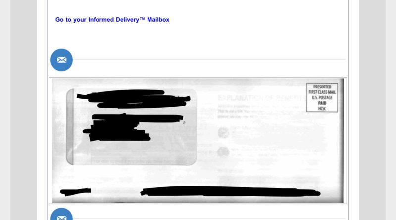 USPS Daily Digest Email