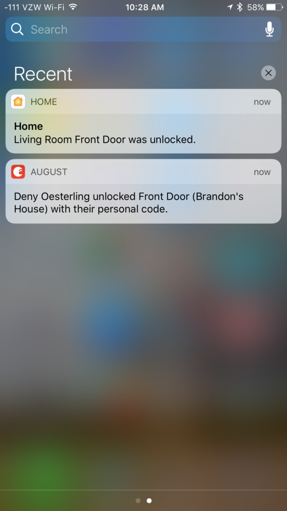 August Notifications